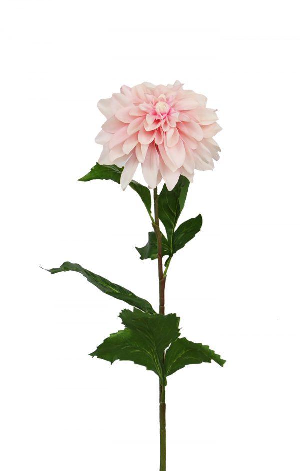zijden roze dahlia